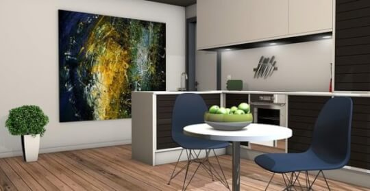 мебели в кухнята