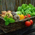 кошница сзеленчуци